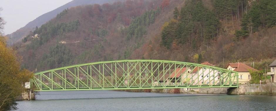 Slika železnega mosta